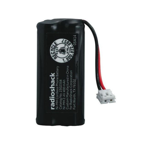 RadioShack 2.4V/400mAh Ni-MH Cordless Phone Battery for Uniden BT-1011
