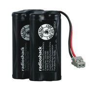 RadioShack 2.4V/300mAh AAA Ni-MH Cordless Phone Battery for Uniden (2-Pack)