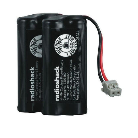 2.4V/300mAh AAA Ni-MH for Uniden (2-Pack)