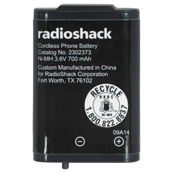 RadioShack 3.6V/700mAh Ni-MH Cordless Phone Battery