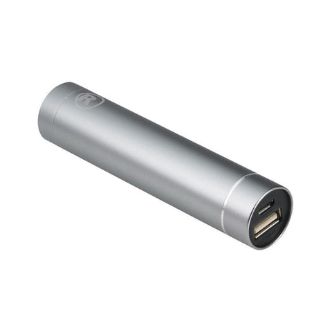 RadioShack 2200 mAh Lipstick Portable Power Bank (Silver)