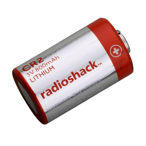RadioShack CR2 3V/800mAh Lithium Battery
