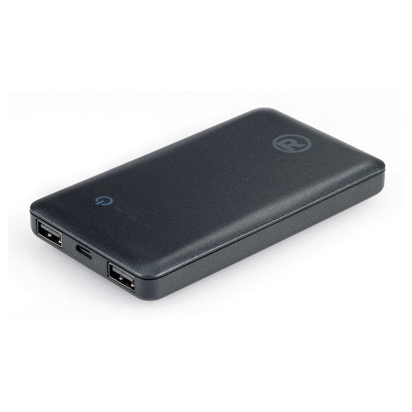 RadioShack 6000 mAh Slim High-Capacity Portable Power Bank (Black)