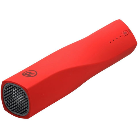 RadioShack 4000mAh Bluetooth Power Bank Speaker (Red)
