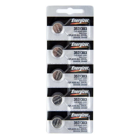 Energizer 357 Batteries (5-Pack)