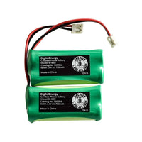 2.4V/700mAh NIMH Cordless Phone Battery (2-Pack) BT 18433 / 28433