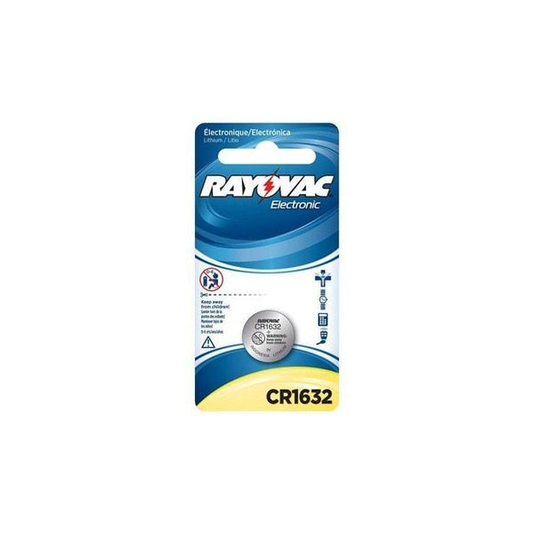 Rayovac CR1632 1PK Battery