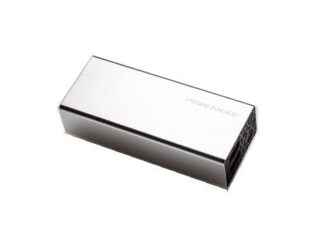Powerocks 6000 mAh Rose Stone Powerbank (Silver)