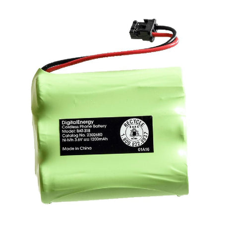 Digital Energy 318 Cordless Phone Battery
