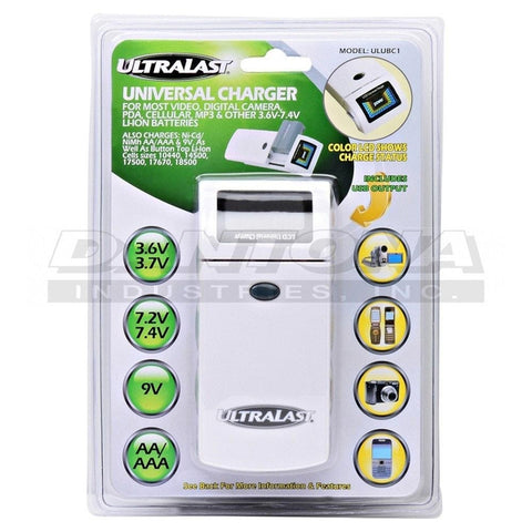 Digital Energy 18650 Li-ion Rechargeable Flat Top Batteries 3.7V/2000mAh (2-Pack)