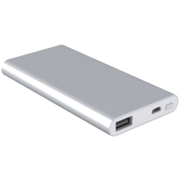 RadioShack 5000 mAh Slim Power Bank (Silver)
