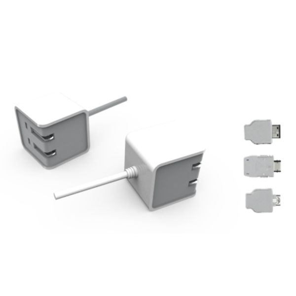 5V 1.2A Micro-USB AC Adapter with Samsung, LG, and Pantech Tips