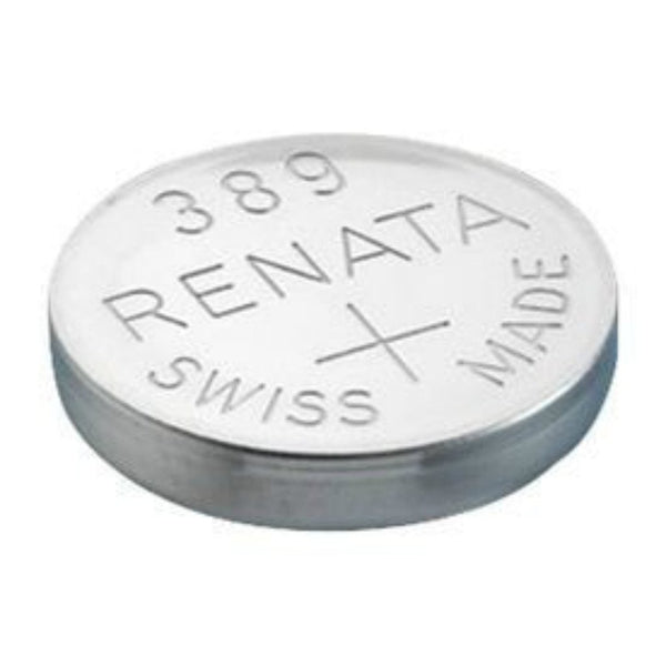 389 1.55V Silver-Oxide Button Cell Battery, 3-Pack