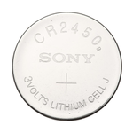 CR2450 3V Lithium Button Cell Battery - Sony, 5-Pack