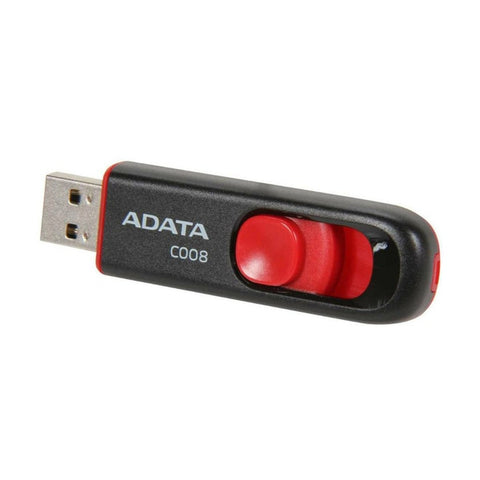 Adata 16GB USB 2.0 Flash Drive (Black/Red)