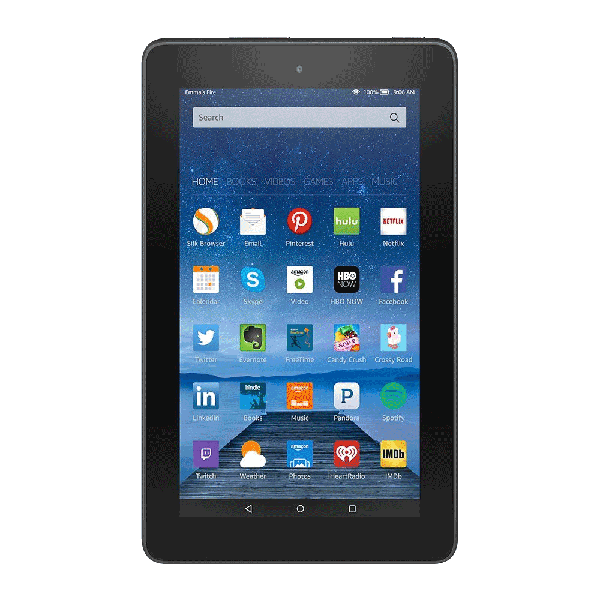 Amazon Fire 7-Inch Tablet Wi-Fi 8GB (Black)