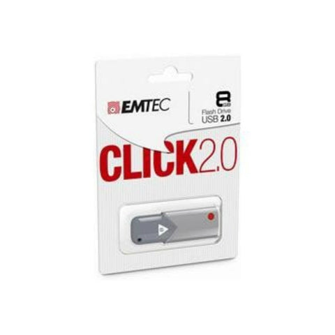 Emtec Click 2.0 8GB USB 2.0 Flash Drive