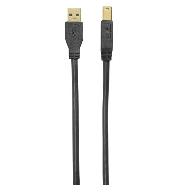Gigaware 6-Foot Gold-Plated USB 3.0 Cable