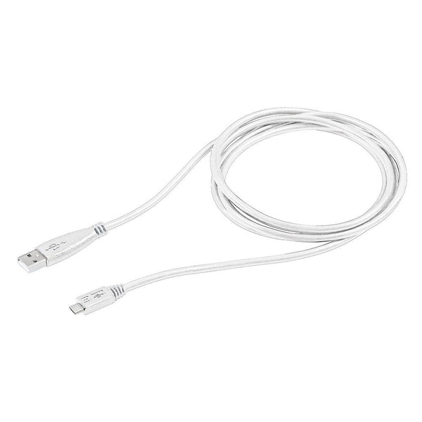 Gigaware 6-Foot Micro USB Cable (White)