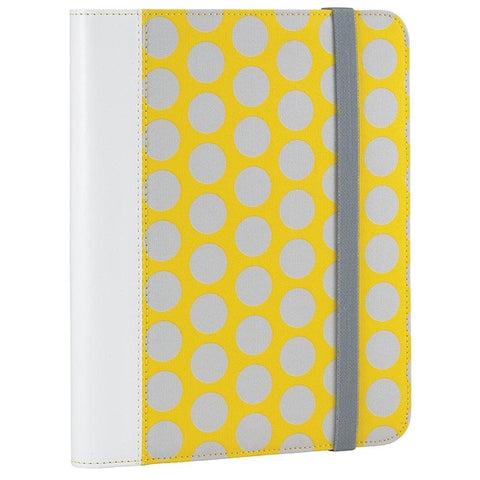 "RadioShack Universal Folio for 7-8"" Tablets (Yellow/Gray)"