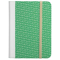 "Universal Folio Case for 8.9-10.1"" Tablets - Green/White"