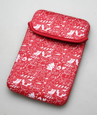 Reversible Holiday Sleeve for 7-8 Tablets