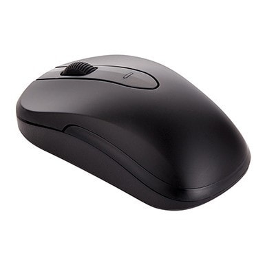 RadioShack Wireless Optical Mouse (Matte Black)