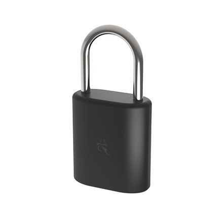 Dog & Bone Small Bluetooth Padlock (Black)