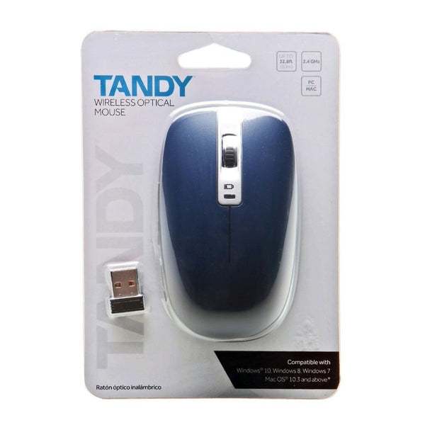 RadioShack Wireless Optical Mouse (Blue)