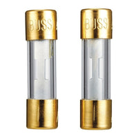50A 32V Gold-Plated 1-1/2x13/32-Inch Glass Fuse (2-Pack)