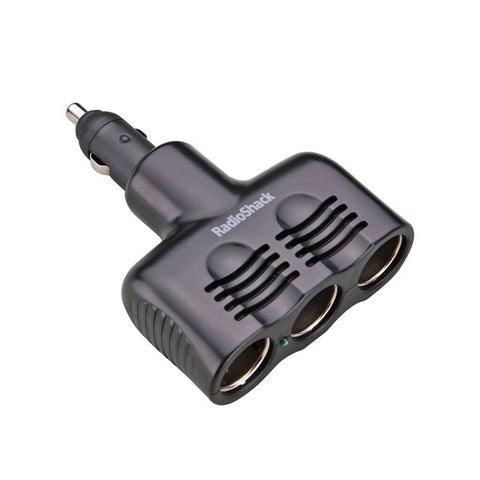 Key Car Charger (1 Piece) 3.4A Dual Lightning (Black)