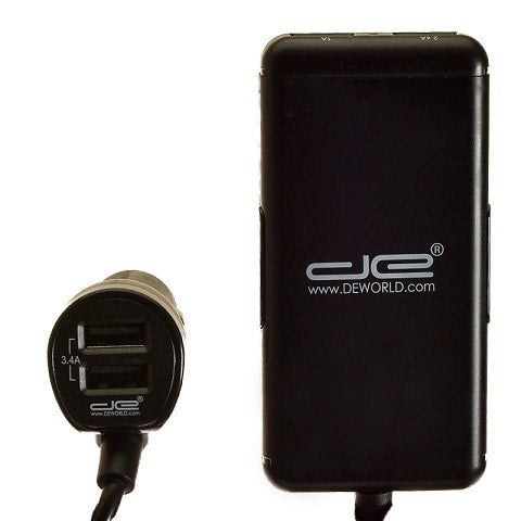 Digital Energy Front & Back Car Charger