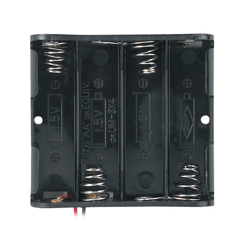 RadioShack Enclosed 4 AA Battery Holder