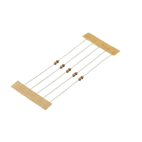 1/8-Watt 10K-Ohm Carbon Film Resistors (5-Pack)