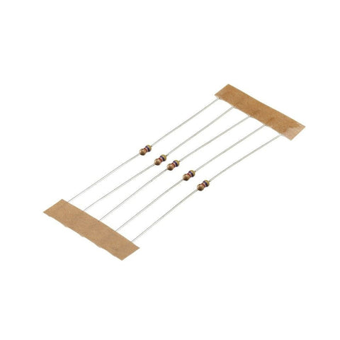 1/8-Watt 4.7K-Ohm Carbon-Film Resistors (5-Pack)