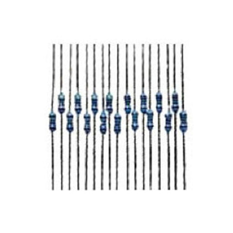 RadioShack 50-Piece 1/4-Watt Metal-Film Resistor Assortment