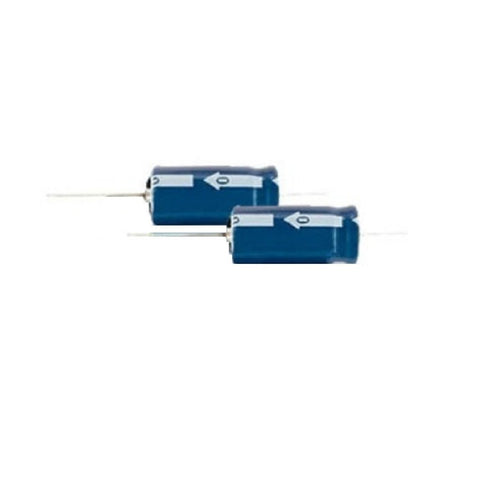 10uF 35V Axial-Lead Electrolytic Capacitor
