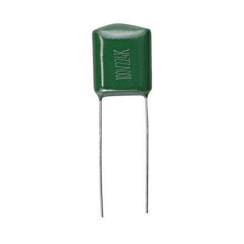 0.22uF 50V 10% PC-Mount Capacitors