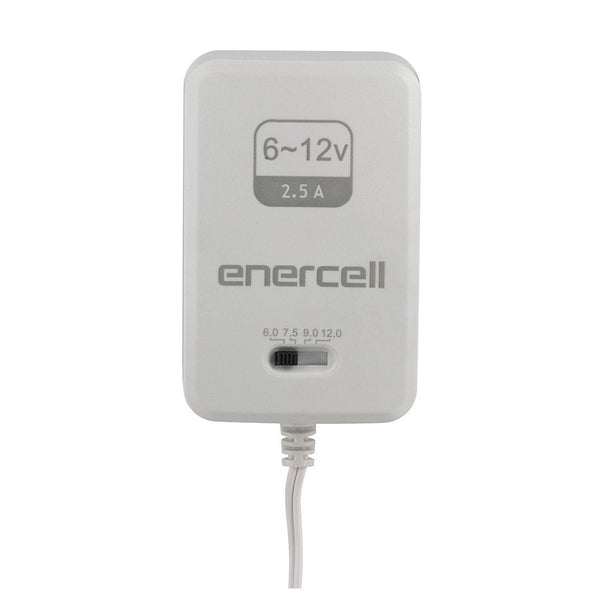 Enercell 6-12VDC/2.5 Amp High-Power AC Adapter
