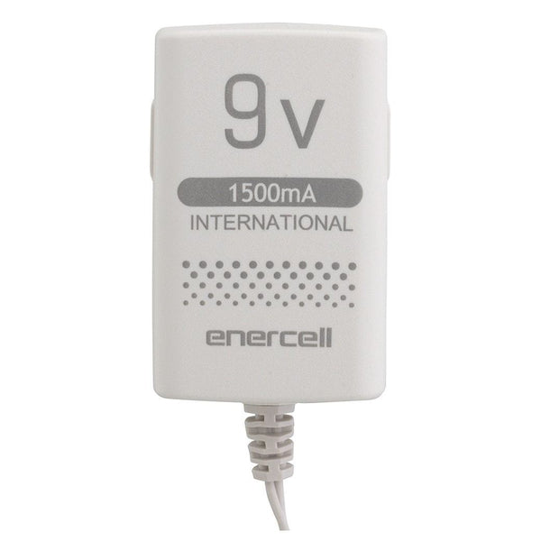 Enercell 9VDC/1500mA International AC Adapter