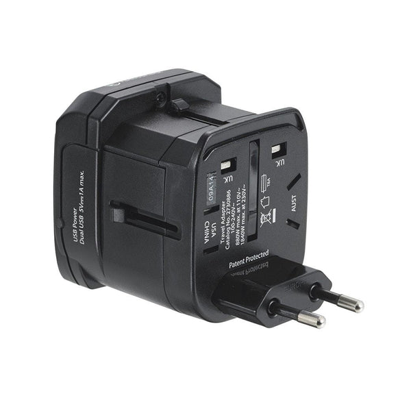 Dual USB International Power Adapter