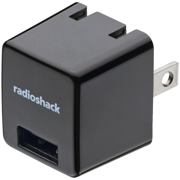 RadioShack 5V 1A AC Adapter with 1 USB (Black)