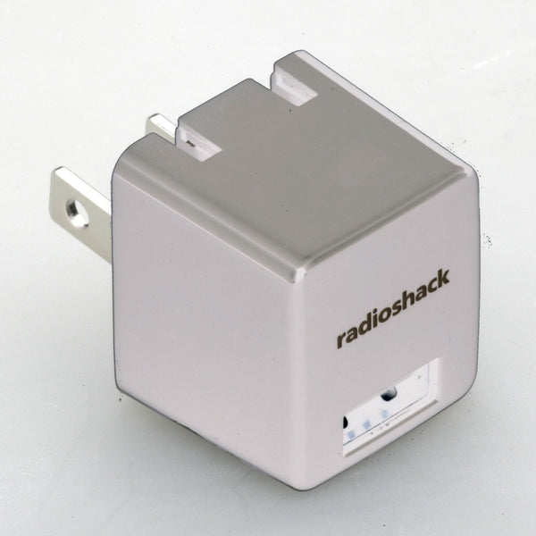 RadioShack 5V 1A AC Adapter with 1 USB (White)