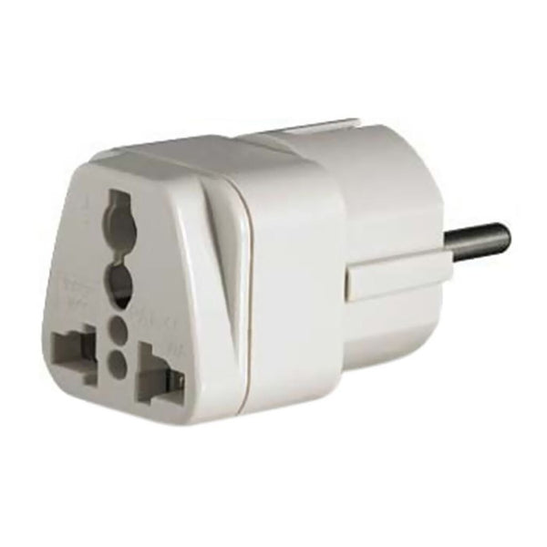Universal Grounded Power Adapter (Continental Europe)