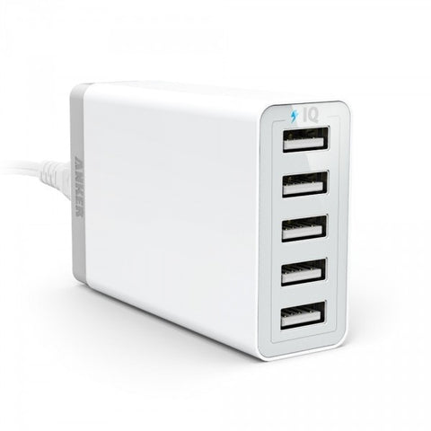 Anker 40W 5-Port Desktop Charger