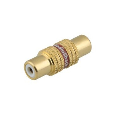 Phono (RCA) Couplers (2-Pack)