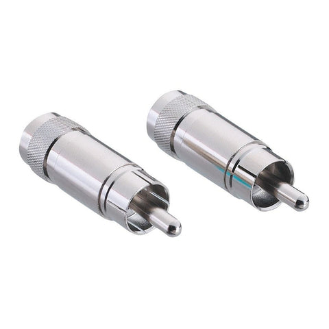 Phono (RCA-Type) Plug (2-Pack)