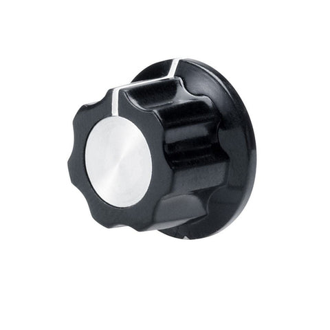 Hexagonal Control Knob with Aluminum Insert