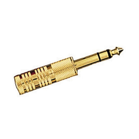 RadioShack Gold-Plated 1/4-Inch  Stereo Phone Plug