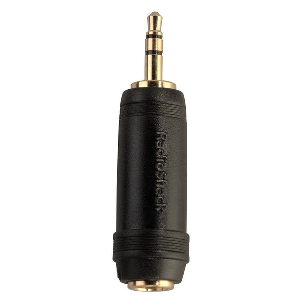 RadioShack Stereo Inline Adapter 1/4-Inch Jack-to-1/8-Inch Stereo Plug